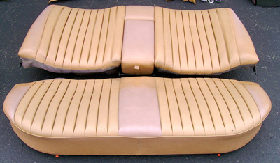 W123 Palomino Rear Seats