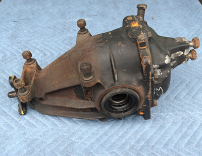 W123 Rear Differential
