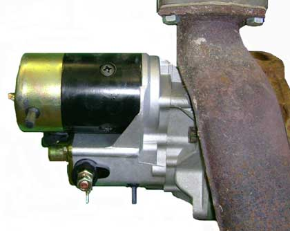 Unimog Gear Reduction Starters