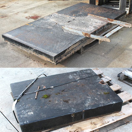 Unimog CASE Rear Deck Weights