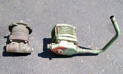 Used Mercedes Benz Unimog Parts